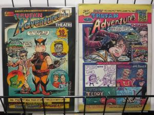 TRUFAN ADVENTURE (PA) 1-2  comics parody