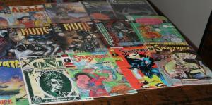 Medium Priority Mail Box Full of TOPPS IMAGE MALIBU ECLIPSE Comics Bulk Mixed
