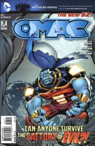 O.M.A.C. (3rd Series) #7 VF; DC | save on shipping - details inside