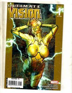 10 Marvel Comics Ultimate Vision #1 2 3 (2) Secrets 1 Ultimate End 1 2 3 4 5 CJ3