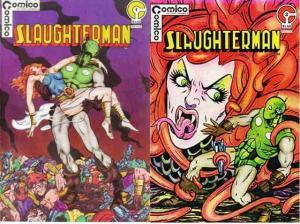 SLAUGHTERMAN (1983 C) 1-2  COMPLETE! COMICS BOOK