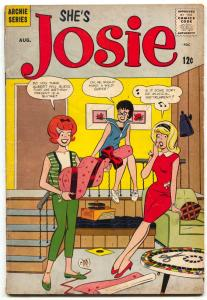 Josie #7 1964- Archie Comics- Slot car racing VG