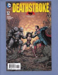 Deathstroke #16 FN/VF Batman v Superman Variant Cover DC 2016