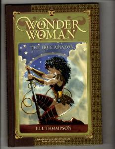 True Amazon Wonder Woman DC Comics Graphic Novel HARDCOVER Comic Book J337