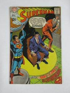 SUPERMAN (1939-1986)  211 VG Nov 1968