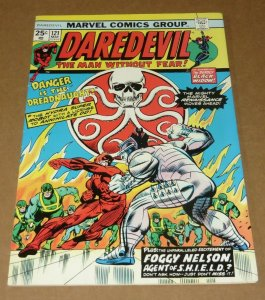 Daredevil #121 FN- 1975 Marvel Bronze Age Comic Book Foggy Nelson Nick Fury