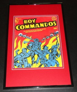 Boy Commandos #1 Cover Framed 11x17 Photo Display Official Repro Jack Kirby