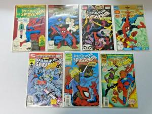 Spectacular Spider-Man Annual run #8 to #14 all 7 different books 9.0 NM (1988)
