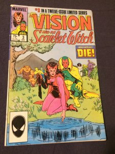 The Vision and The Scarlet Witch #3 Marvel (1985) FN+