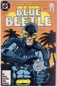 Blue Beetle   (DC vol. 1)   #14 GD/VG Wein/Cullins, Carapax