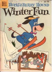 HUCKLEBERRY HOUND (1959-1970 DELL/GK) F.C.1054 VG WINTE COMICS BOOK