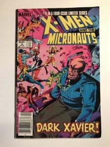 X-Men & The Micronauts #4