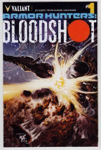 Armor Hunters Bloodshot #1 (Valiant, 2014)   9.6 NM+