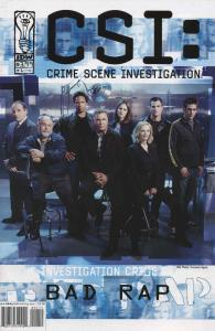 CSI: Crime Scene Investigation—Bad Rap #1 VF; IDW | save on shipping - details i