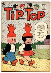 Tip Top Comics #210 1957- Nancy- Peanuts- Charles Schultz- VG