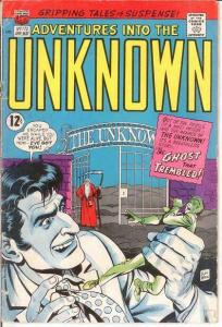 ADVENTURES INTO THE UNKNOWN 172 G- COMICS BOOK