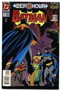 BATMAN #511 Zero Hour-Joker-Killing Joke comic book