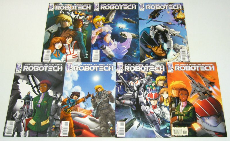 Robotech #0 & 1-6 VF/NM complete series - wildstorm comics set lot udon