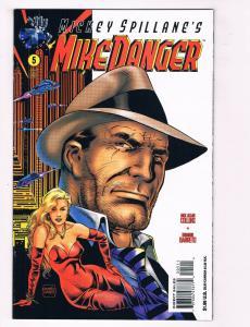 Mike Danger #5 NM Tekno Comix Comic Book Mickey Spillane Collins DE28