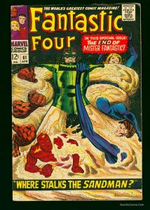 Fantastic Four #61 VG 4.0 White