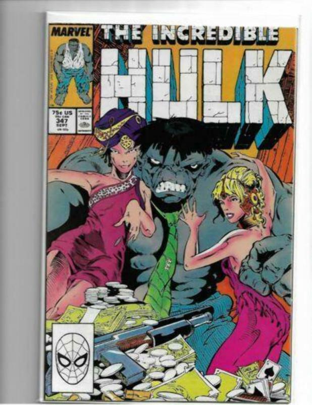 Incredible Hulk #347 - NM - Immortal Hulk Key 1st Appearance Mr. Fixit