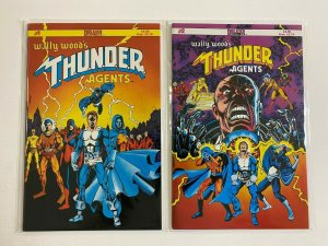 Wally Wood's THUNDER Agents #1+2 6.0 FN (1984 Deluxe)