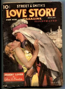 Love Story Pulp May 19 1937- Desert Lover- Modest Stein cover