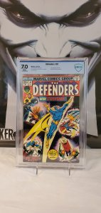 Defenders #28 - CBCS 7.0 - 1st Appearance of Starhawk