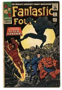 FANTASTIC FOUR #52 comic book-1st appearance Black Panther-Marvel 1966