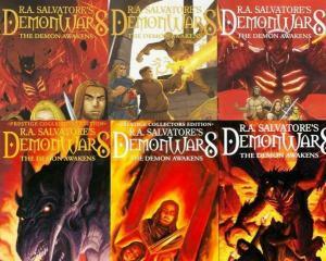 DEMONWARS DEMON AWAKENS (2007 DEVILS DUE) 1A-3A,1B-3B COMICS BOOK