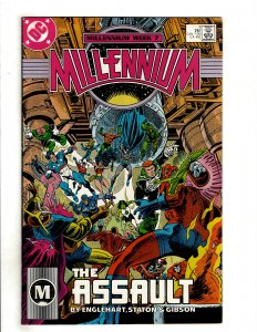 Millennium #7 (1988) DC Comic Superman Flash OF7