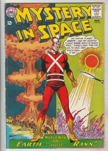 Mystery in Space #82 (Mar-63) VF/NM High-Grade Adam Strange
