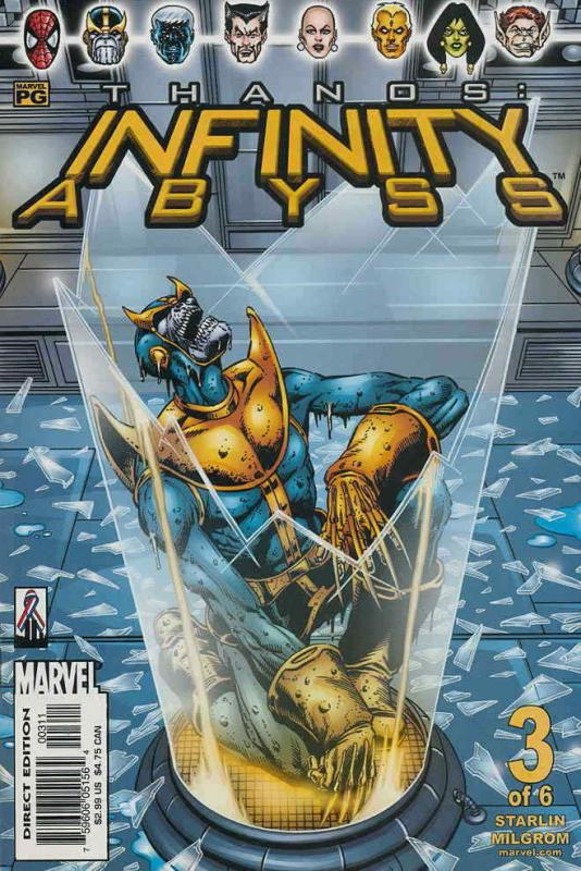 Thanos: Infinity Abyss #3 VF/NM; Marvel | save on shipping - details inside