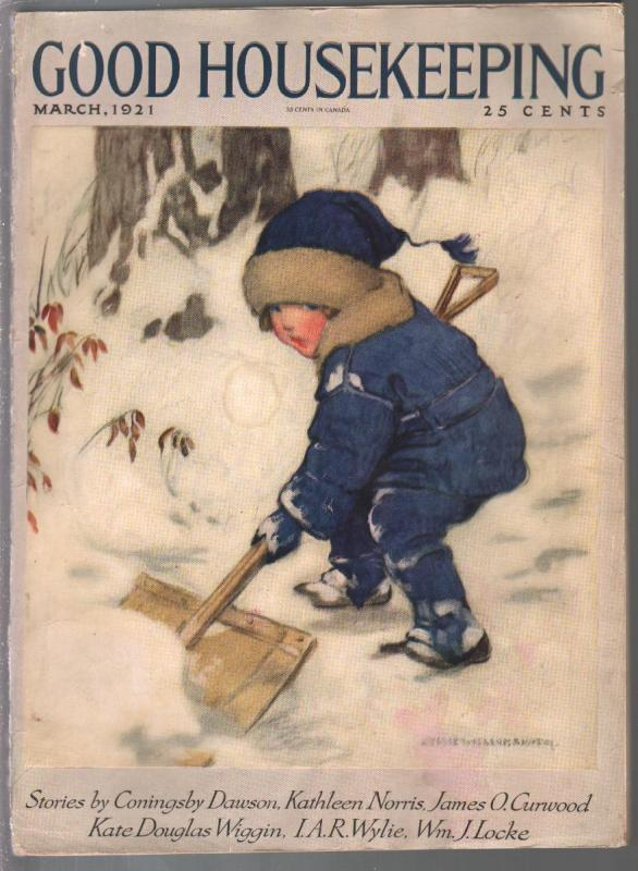 Good Housekeeping 3/1921-Jesse Wilcox Smith-Johnny Gruelle-James O Curwood-VG