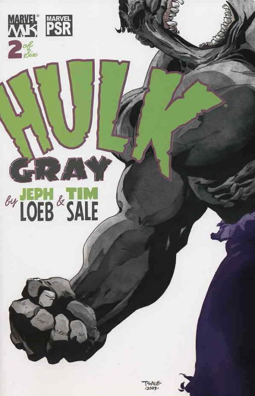 Hulk: Gray #2 VF/NM; Marvel | save on shipping - details inside
