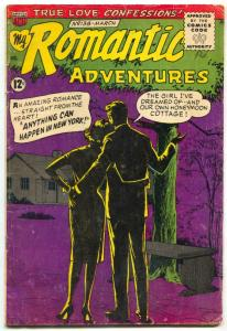 My Romantic Adventures #138 1964- RARE FINAL ISSUE VG