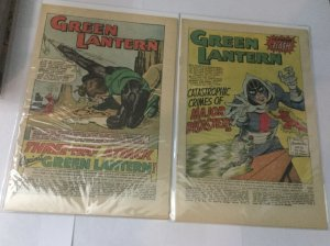 Green Mantern 34 43 Coverless DC Comics Silver Age