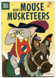 Mouse Musketeers -Four Color Comics #711 1956 VG
