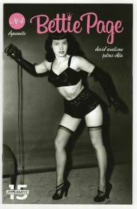 Bettie Page #4 Cvr E Photo Variant (Dynamite, 2019) NM