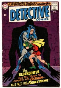 DETECTIVE COMICS #345-BATMAN AND ROBIN-1965-FIRST BLOCK BUSTER vg