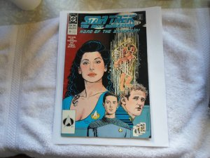 1990 DC COMIC STAR TREK THE NEX GENERATION ( HAND OF THE ASSASSIN # 13