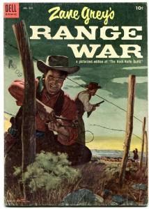 Four Color Comics #555 1954- Zane Grey's Range War VG+