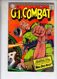 G.I. Combat #122 (Mar-67) FN- Mid-Grade The Haunted Tank