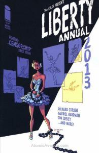 CBLDF Presents, The: Liberty Comics Annual #2013B VF/NM; Image   save on shippin