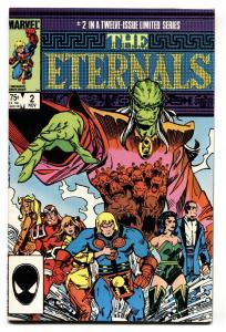 THE ETERNALS #2-1985-First appearance of Ghaur -COMIC BOOK