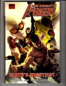 Mighty Avengers Earth's Mightiest Marvel Comics HARDCOVER Graphic Novel J307