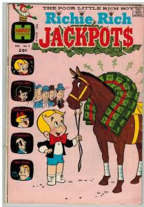 RICHIE RICH JACKPOTS (1972-1982) 2 VG- Dec. 1972