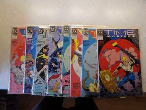 TIME MASTERS # 1-8 DC ACTION ADVENTURE COMPLETE SET VF/NM TO NM