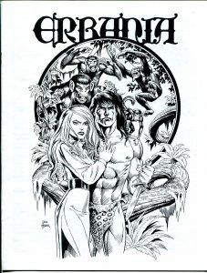 Erbania #77 1997 -Edgar Rice Burroughs-Tarzan-Dave Hoover-Van Diem-info-pix- VG