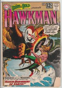 Brave and the Bold, The #43 (Sep-62) VG+ Affordable-Grade Hawkman